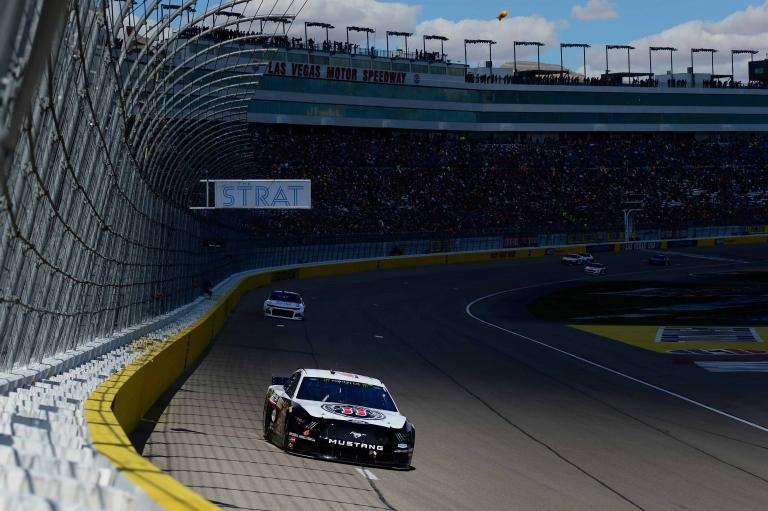 Kevin Harvick at Las Vegas Motor Speedway