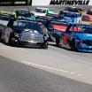 Kyle Busch and Stewart Friesen at Martinsville Speedway - NASCAR Truck Series