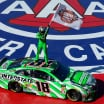 Kyle Busch wins his 200th NASCAR race at Auto Club Speedway