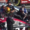 Michael McDowell and Daniel Suarez fight - NASCAR Cup Series at ISM Raceway