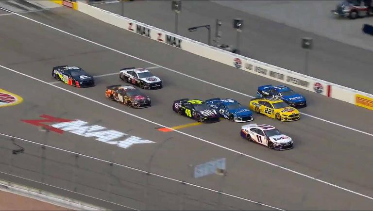 NASCAR Qualifying at Las Vegas Motor Speedway