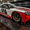 NASCAR Toyota Supra Wind Tunnel