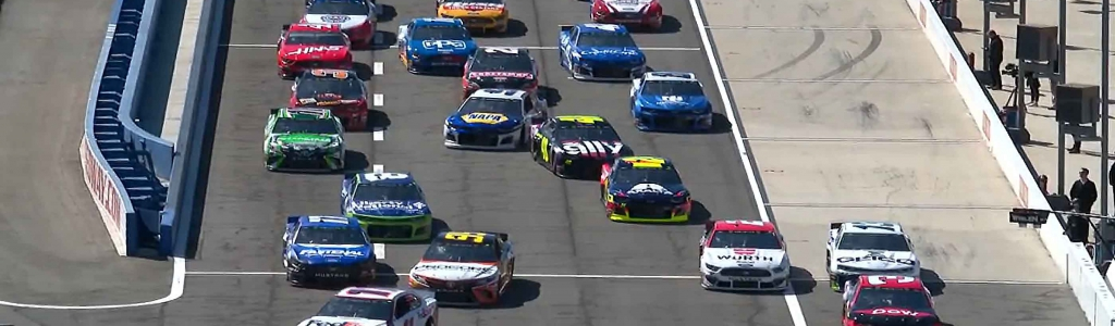 NASCAR reacts to the qualifying debacle at Auto Club Speedway; Fans boo after the session