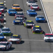 NASCAR qualifying at Auto Club Speedway - Drivers wait on pit road