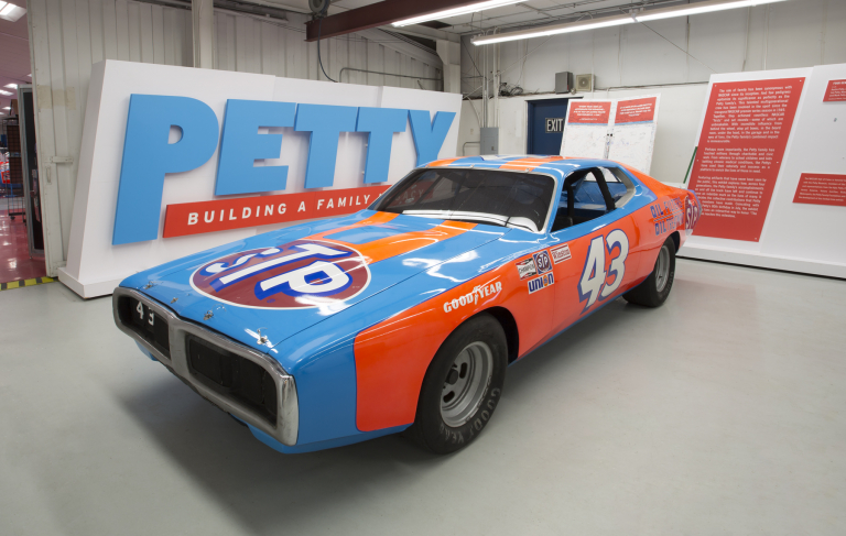 Richard Petty's 5th Daytona 500 winning 1974 Dodge Charger which sold for $490,000 at auction