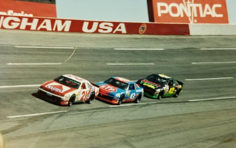 Rockingham Speedway - Classic NASCAR race cars