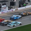 Ryan Newman blocks Clint Bowyer in qualifying at Texas Motor Speedway