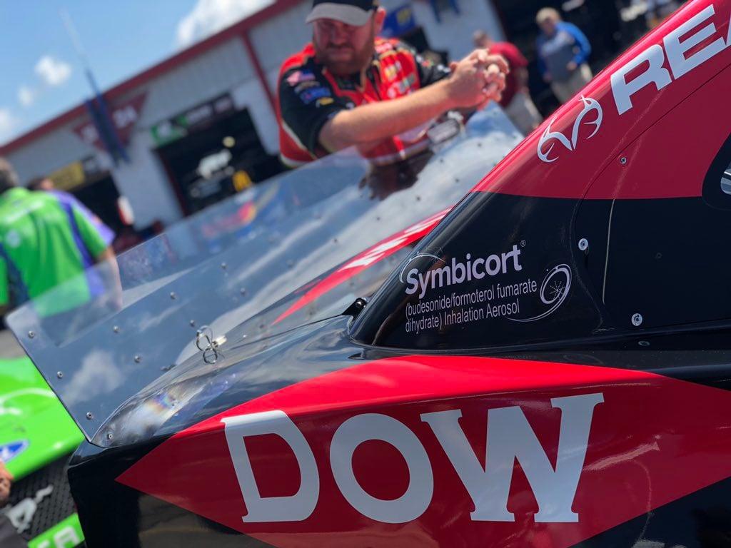 Austin Dillon's rear spoiler - Talladega Superspeedway