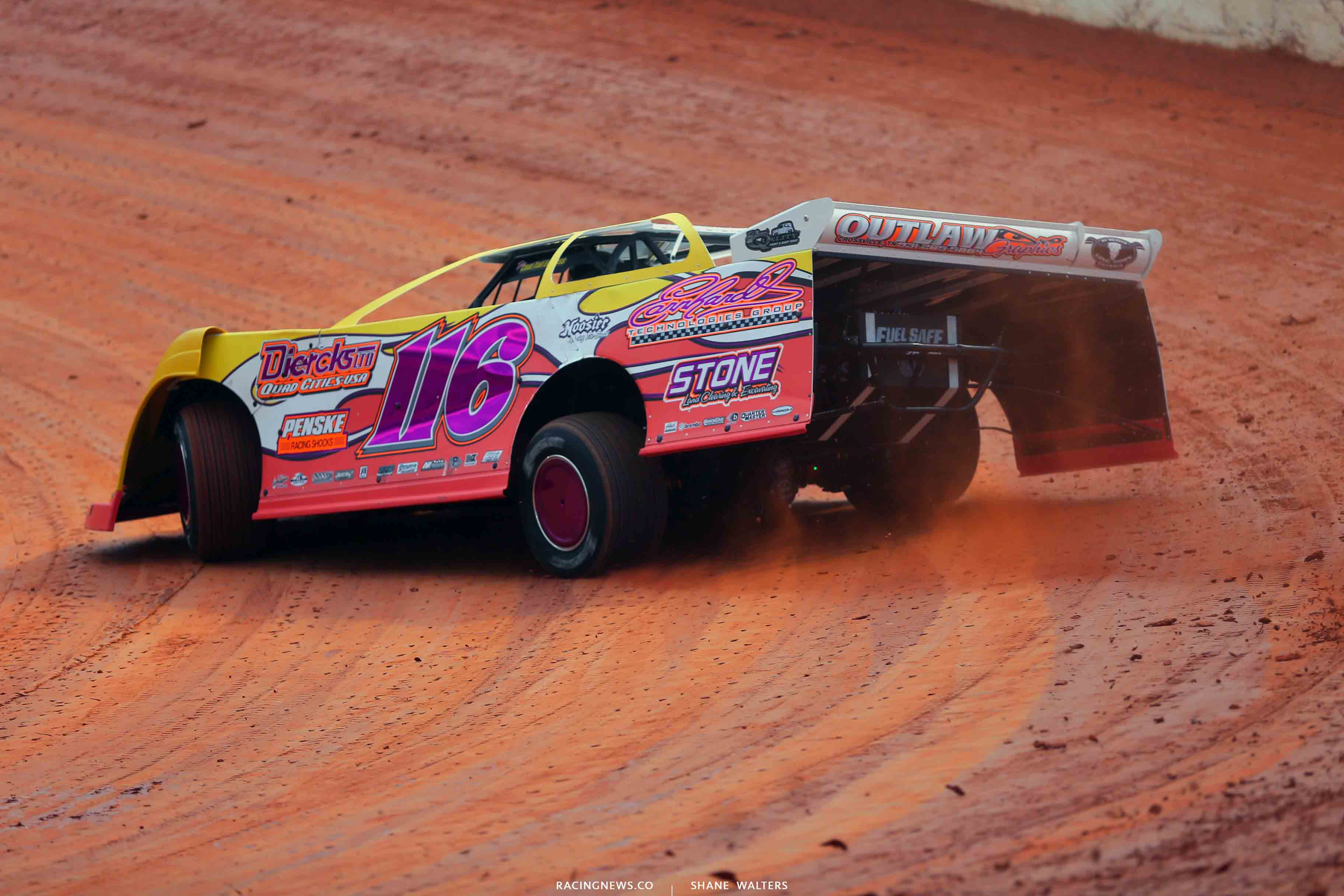 Cameron Weaver - Randy Weaver Racing at 411 Motor Speedway 1105