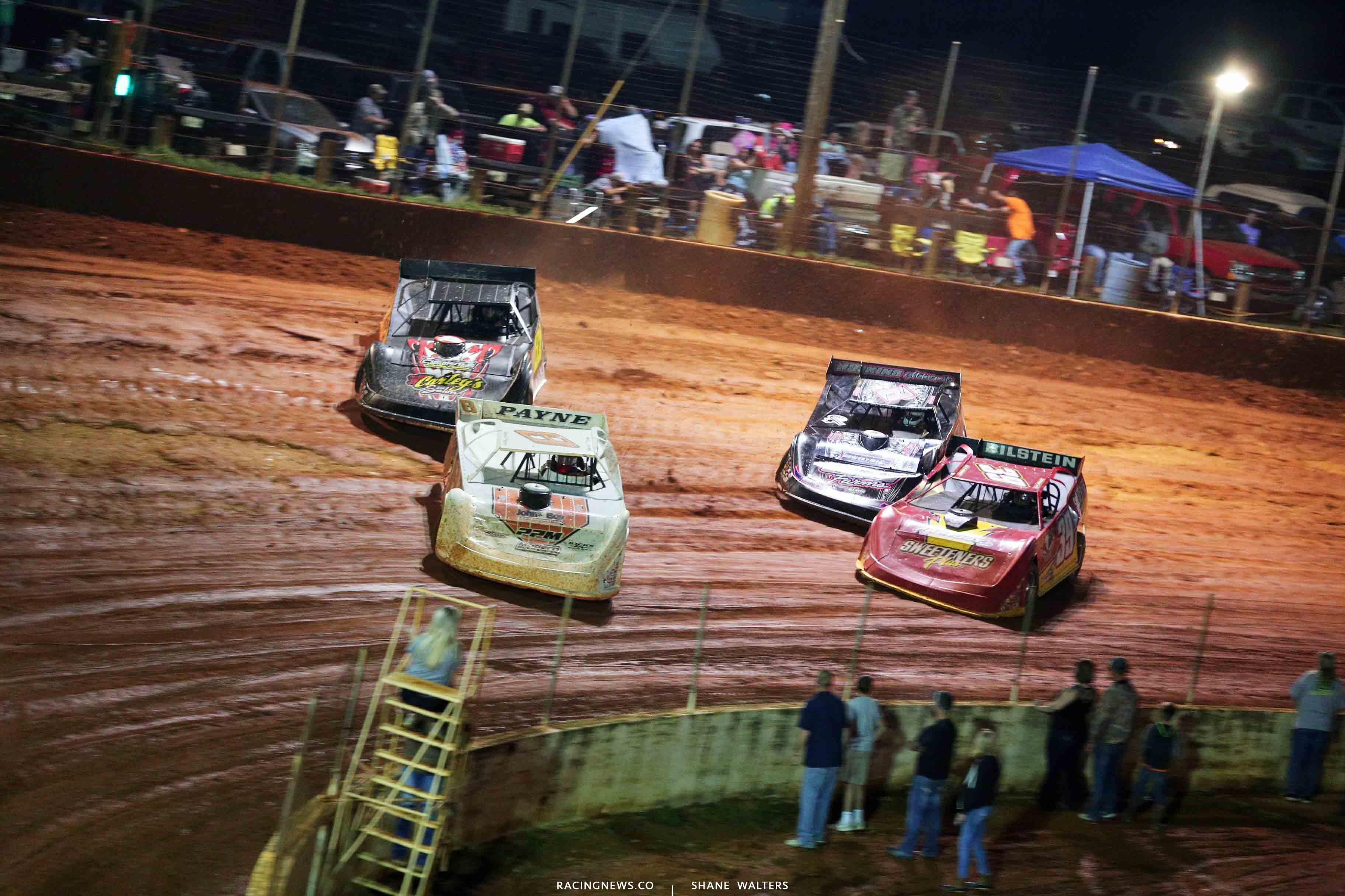 David Payne, Aaron Ridley and Tim McCreadie at North Georgia Speedway 1852