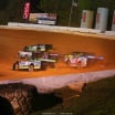 Jimmy Owens leads at 411 Motor Speedway 1408
