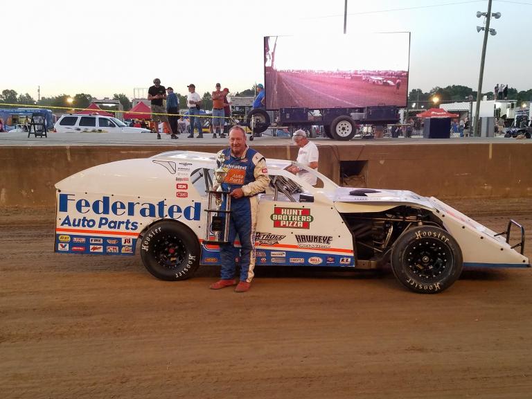 Ken Schrader - Hoosier Hundred - Dirt Modified
