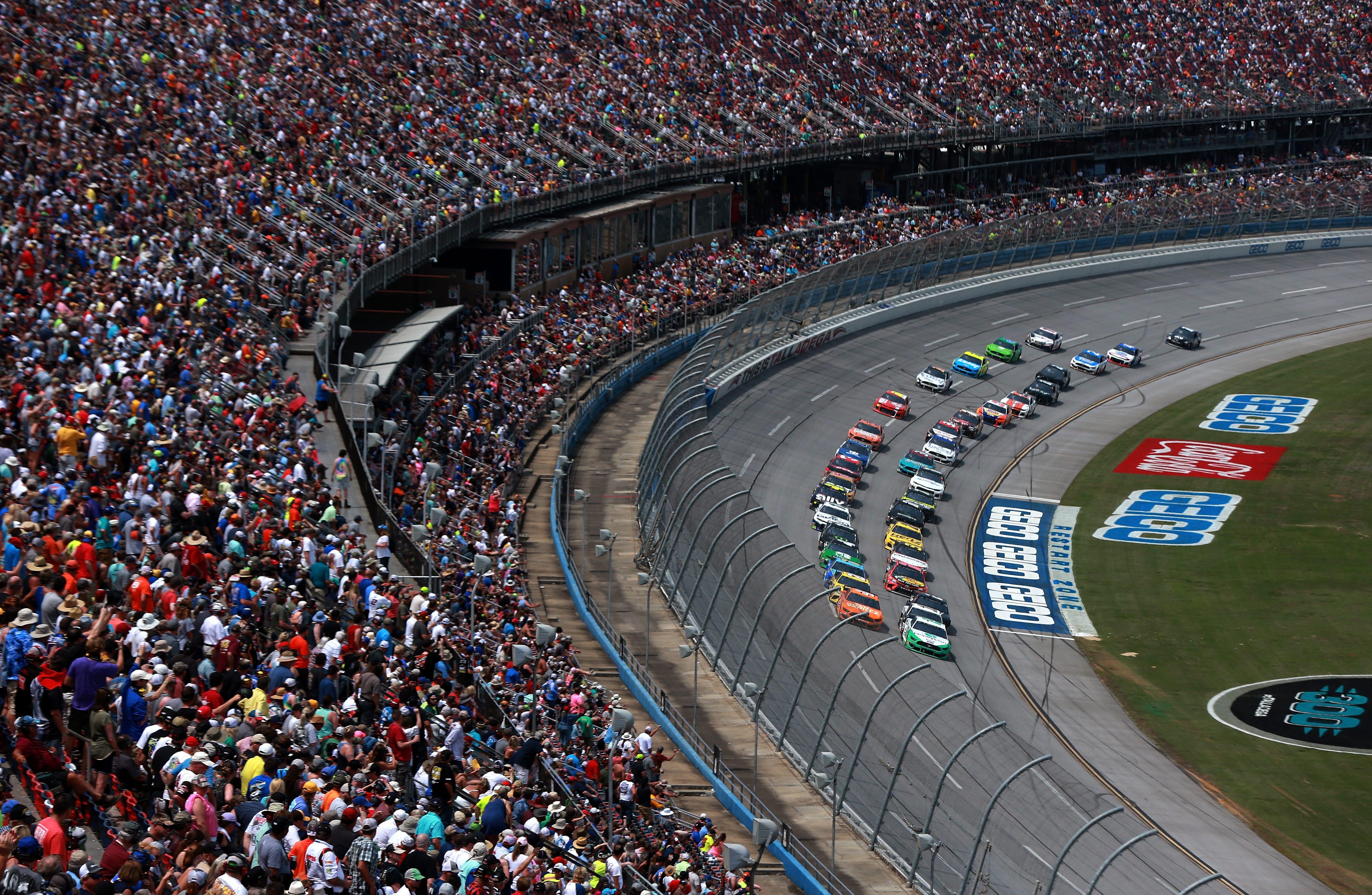 Talladega Starting Lineup: October 2019 (NASCAR Cup Series)