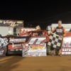 Rick Eckert in victory lane at Williams Grove Speedway