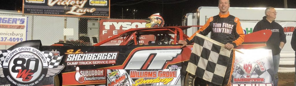 Rick Eckert begins his 2019 season with a win in new self-funded operation
