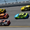 William Byron, Daniel Suarez, Chase Elliott, Erik Jones and Ryan Blaney at Talladega Superspeedway