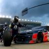 Alex Bowan at Kansas Speedway - NASCAR pit stop