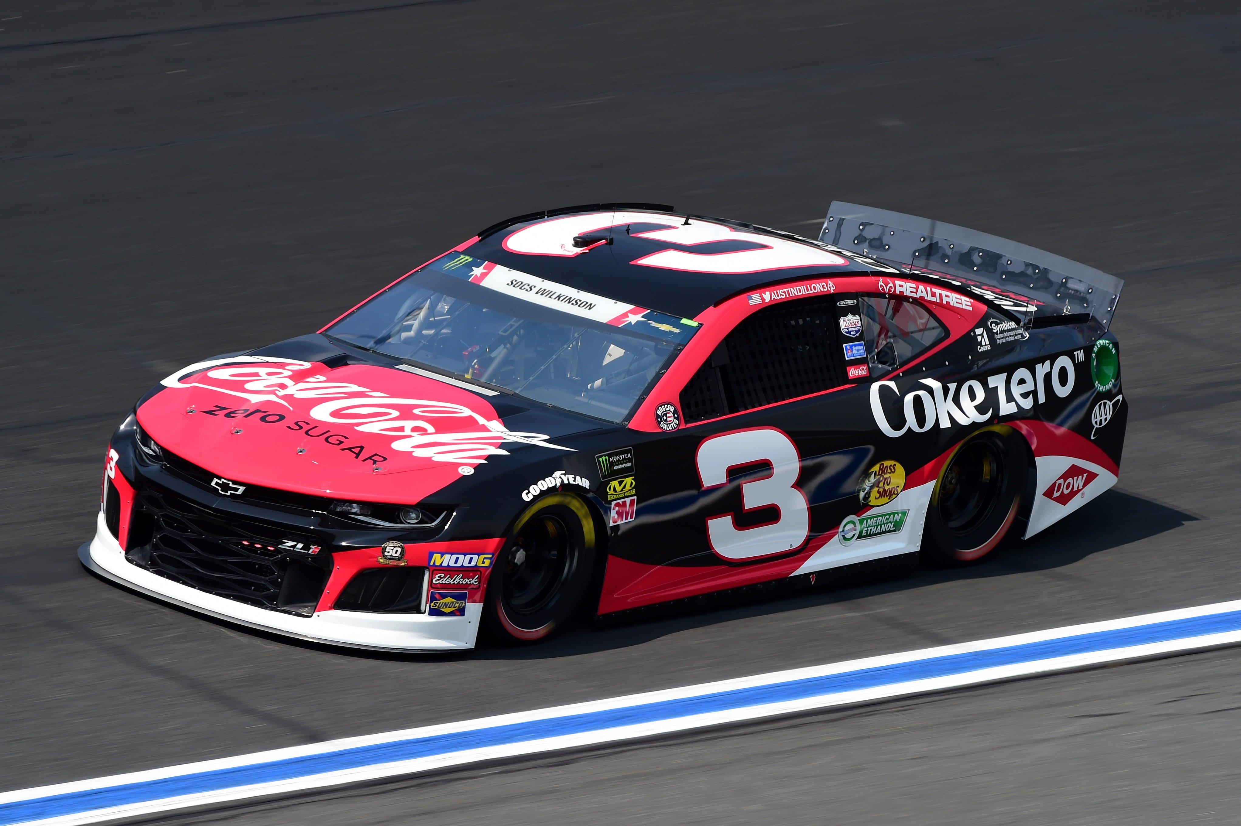 Coca-Cola 600: 10-lap average speeds (May 2019)