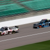 Brandon Jones and Ben Rhodes at Kansas Speedway - NASCAR Truck Series