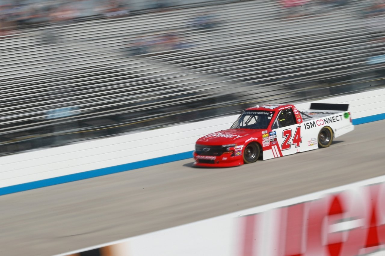 Brett Moffitt at Dover International Speedway