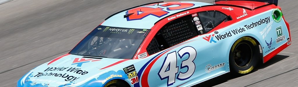Bubba Wallace opens up on depression; Then leads group A in qualifying at Kansas