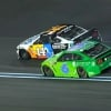 Clint Bowyer and Ryan Newman - NASCAR fight