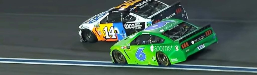 Clint Bowyer and Ryan Newman fight on pit road after NASCAR All-Star Race (Video)