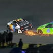 Clint Bowyer and Ryan Newman in the NASCAR All-Star Race