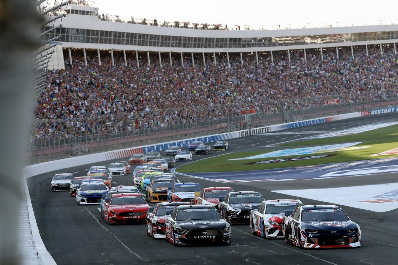 Coca-Cola 600 at Charlotte Motor Speedway - NASCAR