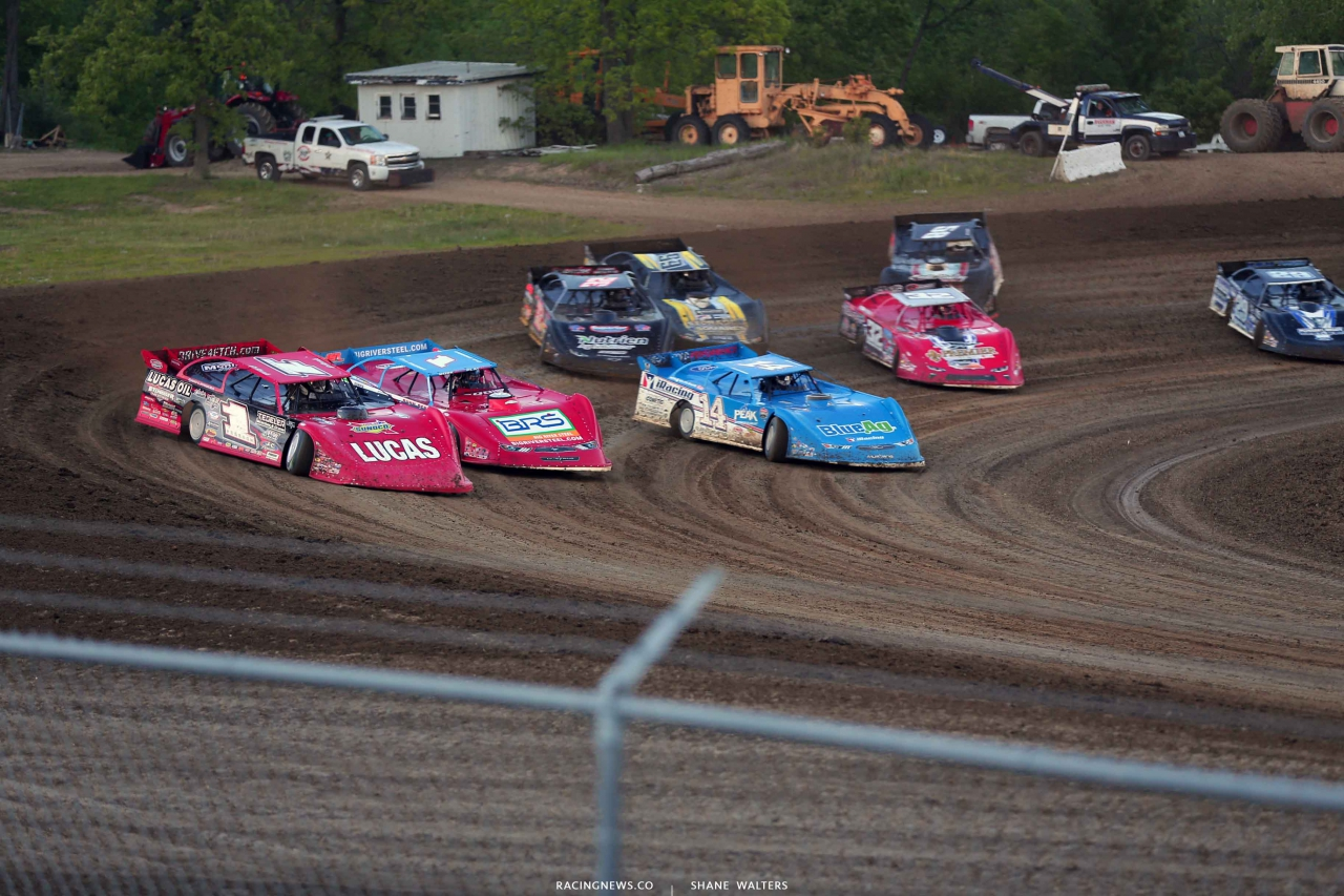 Earl Pearson Jr, Devin Moran and Josh Richards at 34 Raceway - LOLMDS 3249