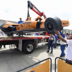 Fernando Alonso - Indy 500 practice crash