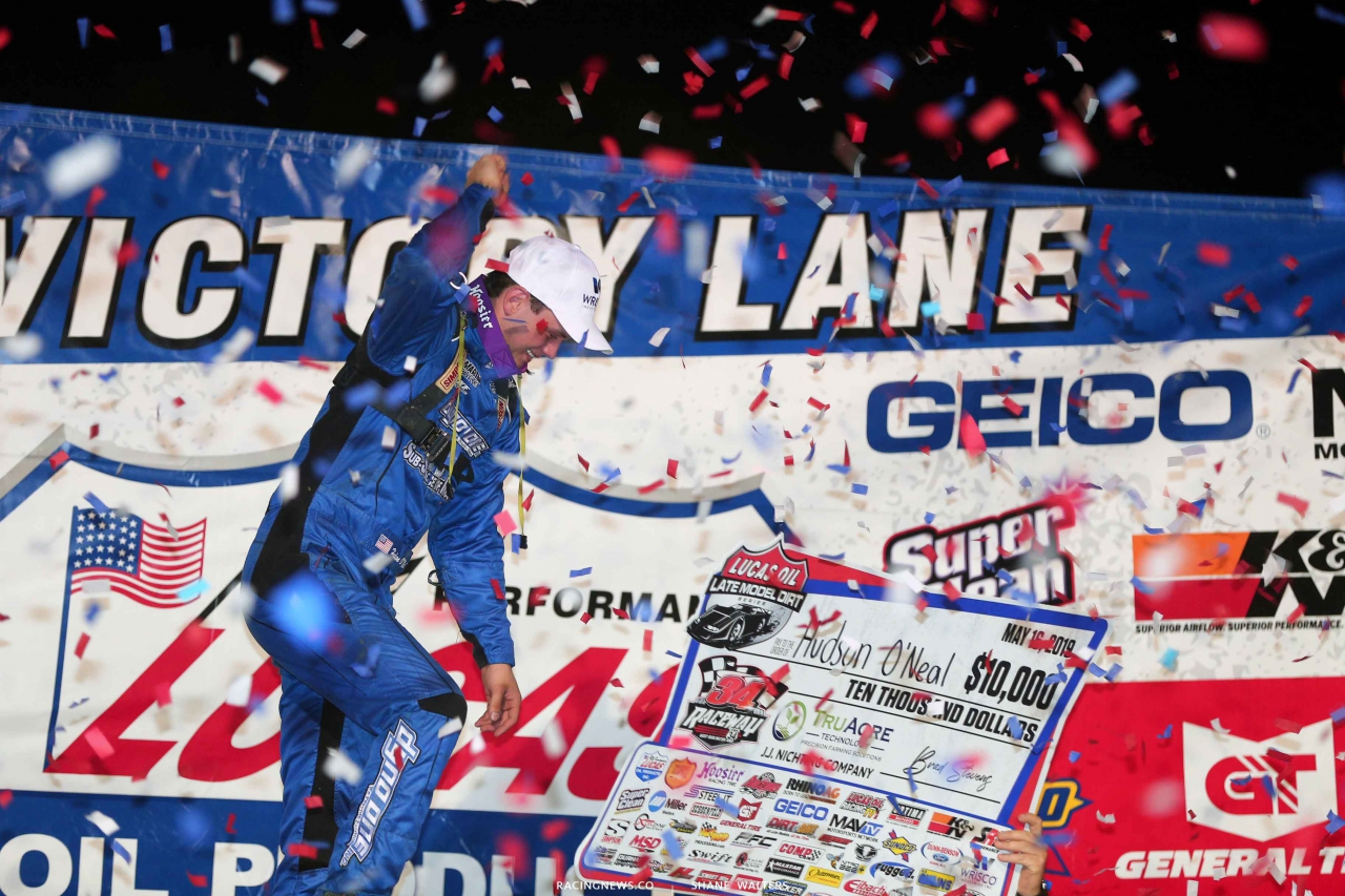 Hudson O'Neal wins at 34 Raceway 3562