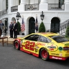 Joey Logano, Roger Penske and NASCAR visit the White House