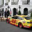 Joey Logano, Roger Penske and NASCAR visit the White House