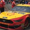 Joey Logano at Pocono Raceway - MENCS