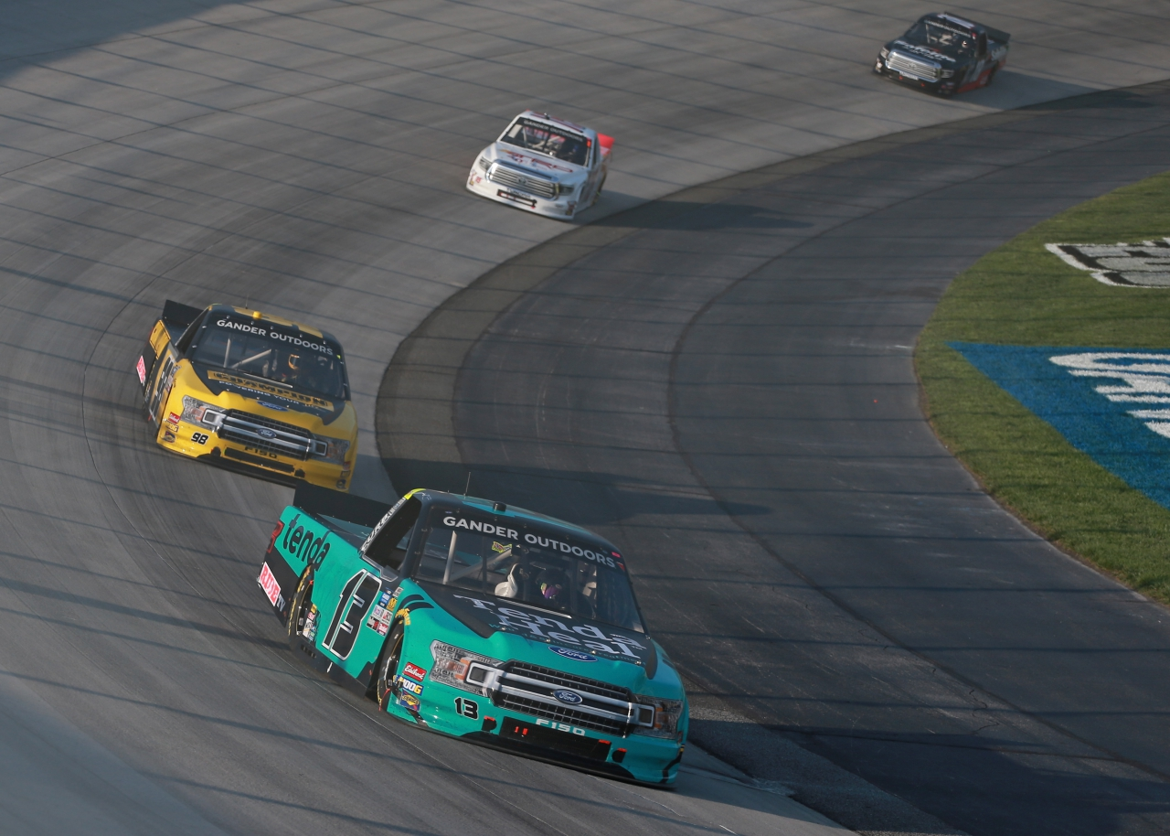 Johnny Sauter at Dover International Speedway - ThorSport Racing