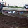 Jonathan Davenport, Billy Moyer Jr and Tyler Erb at 34 Raceway - Lucas Oil Late Models 3205