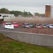 Jonathan Davenport, Earl Pearson Jr, Chad Simpson, Stormy Scott, Billy Moyer Jr, Tyler Bruening, Don O'Neal, Joel Callahan and Allen Murray at 300 Raceway - LOLMDS3624