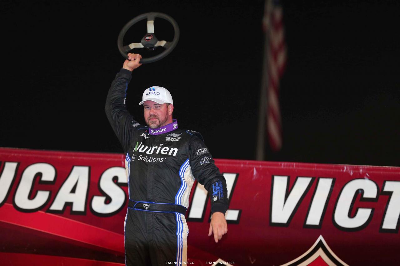Jonathan Davenport wins at Magnolia Motor Speedway 4480