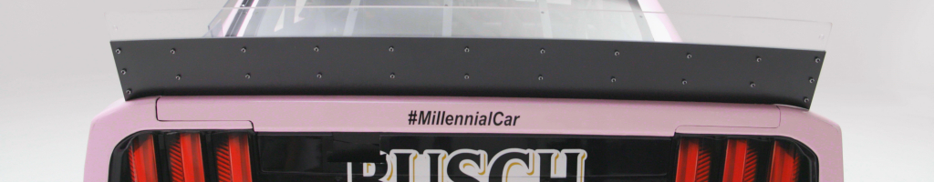 Kevin Harvick will run this Millennial inspired car at Charlotte (Photos)