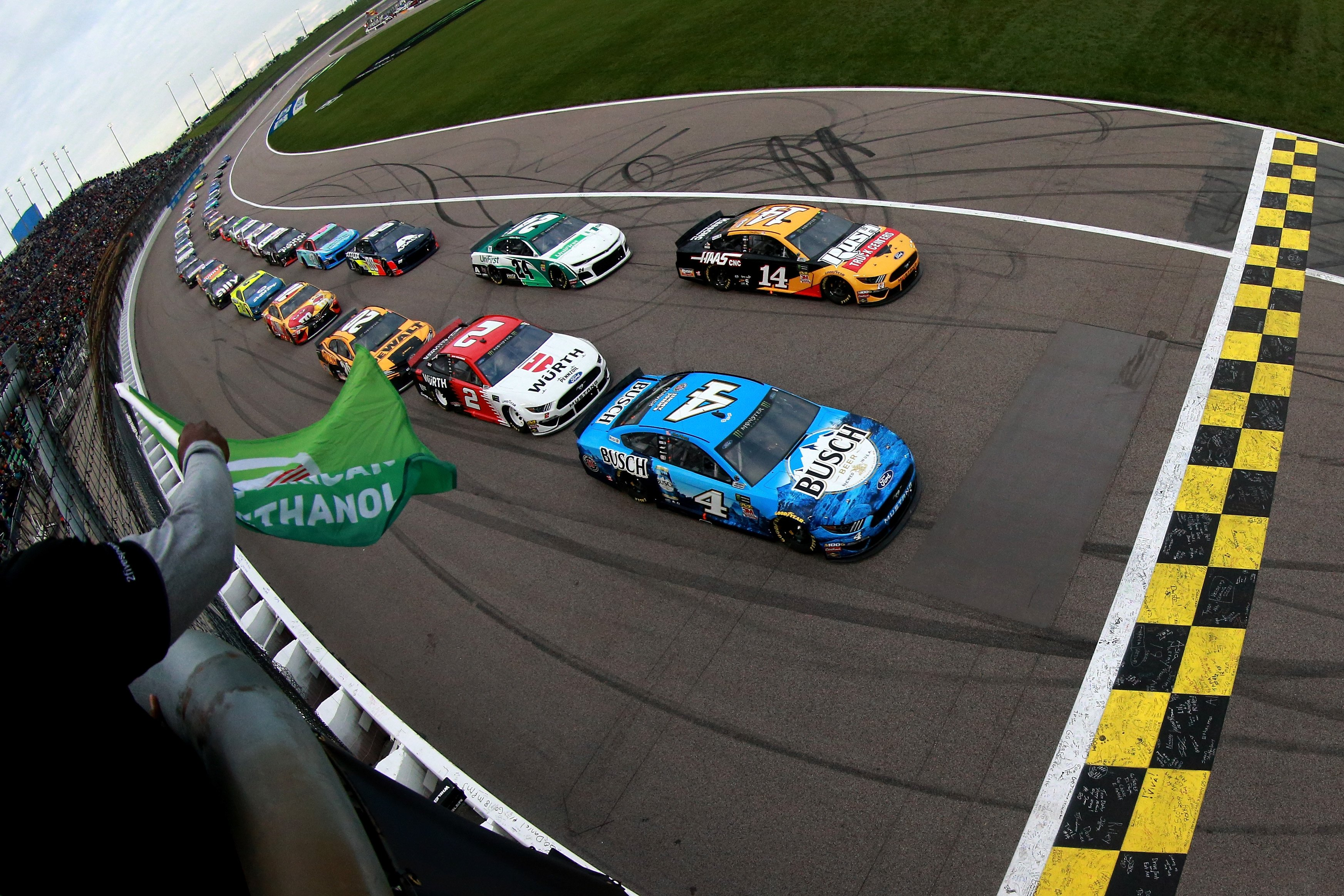 Kansas Starting Lineup: October 2019 (NASCAR Cup Series) - Racing News