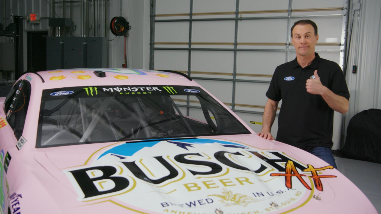 Kevin Harvick and his Millennial NASCAR paint scheme