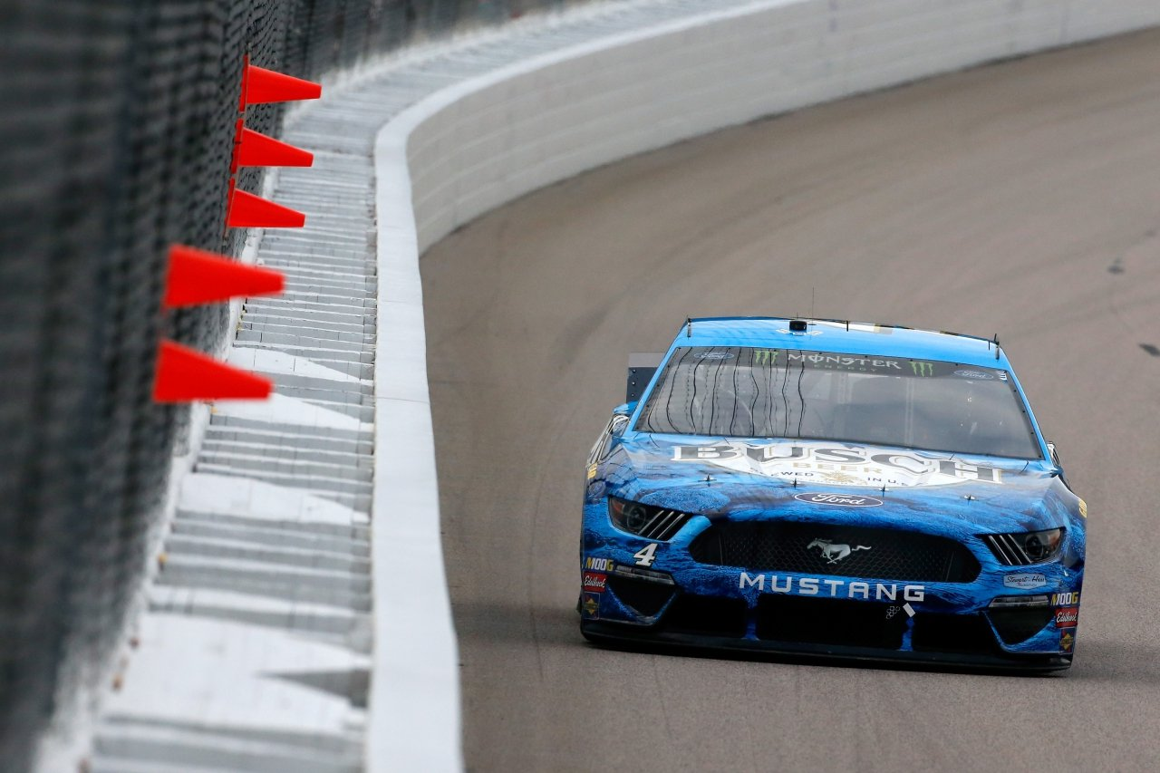 Kevin Harvick at Kansas Speedway - NASCAR