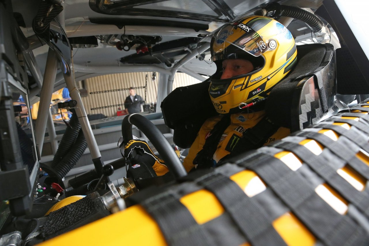 Kyle Busch - NASCAR cockpit