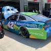 Kyle Larson at Charlotte Motor Speedway - NASCAR Garage