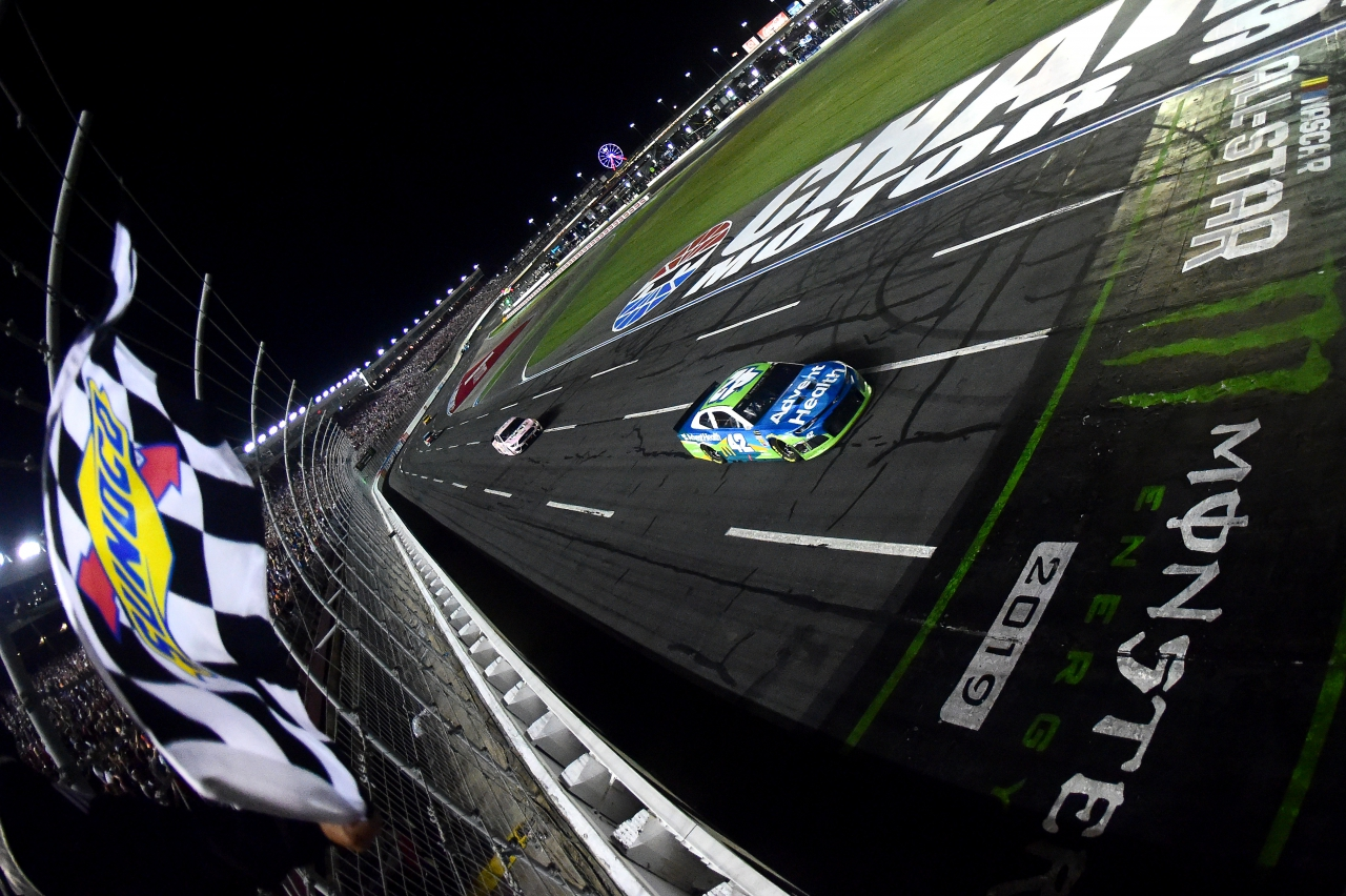 Kyle Larson wins the NASCAR All-Star Race at Charlotte Motor Speedway