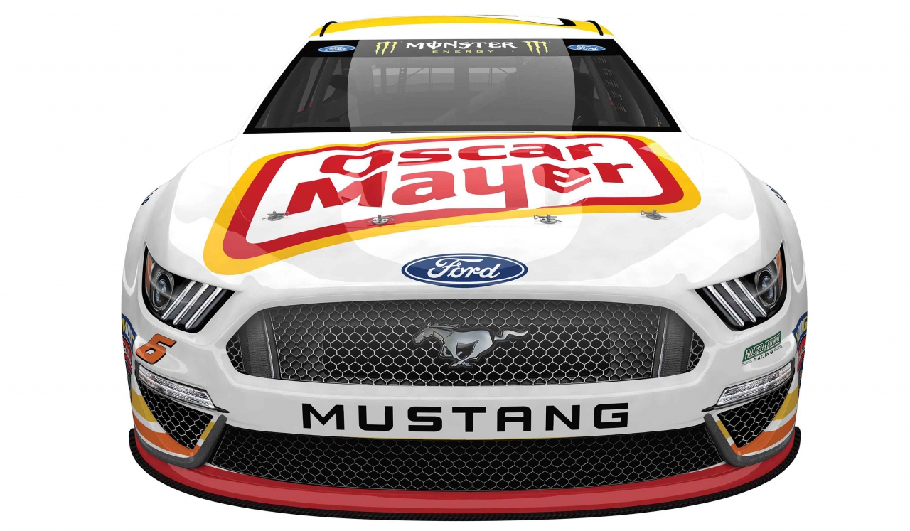 Ryan Newman - 2019 throwback paint scheme - Mark Martin