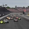 Simon Pagenaud and Ed Carpenter lead in the Indy 500 at Indianapolis Motor Speedway - Indycar Series