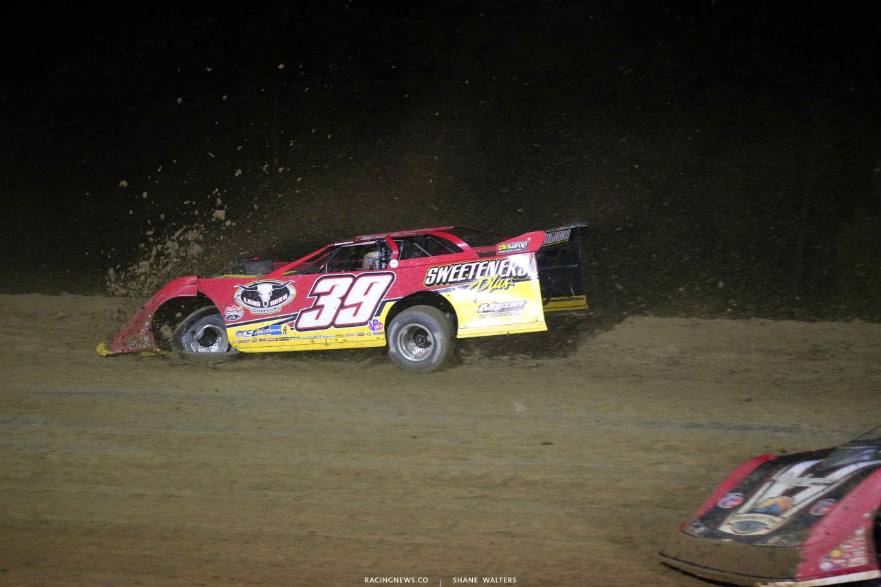 Tim McCreadie at 34 Raceway - Dirt Late Model Aerodynamics 3339
