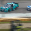 Austin Hill and Johnny Sauter at Iowa Speedway - NASCAR Truck Series